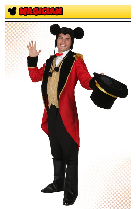 Mickey Mouse Magician Costume  sc 1 st  Halloween Costumes & Mickey Mouse Costumes - HalloweenCostumes.com