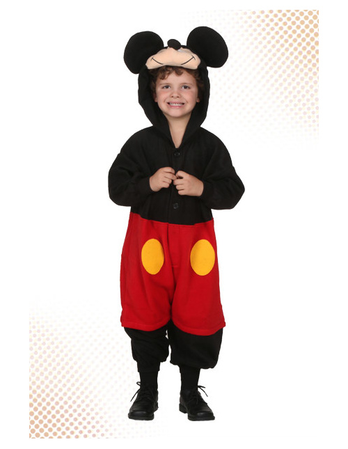 Boy's Mickey Mouse Costume
