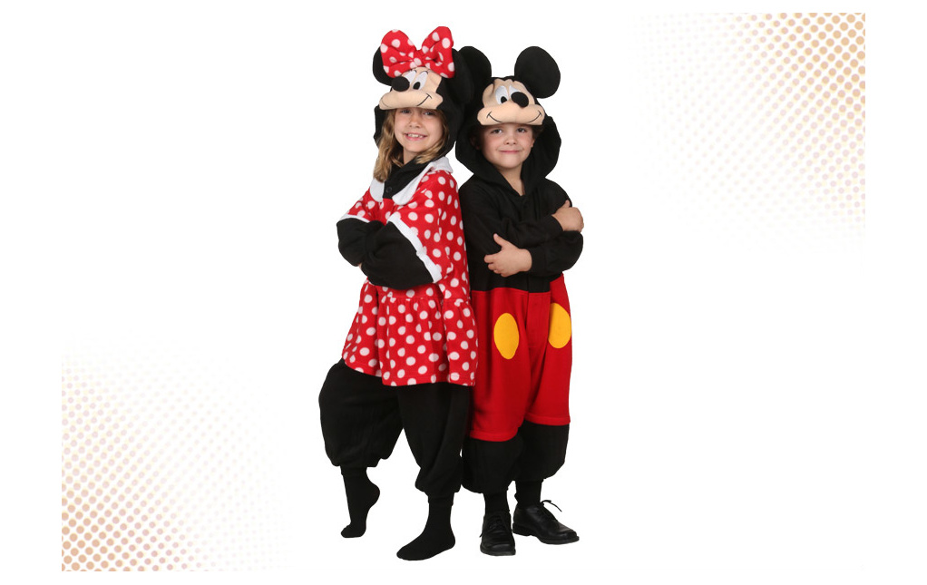 Kids Mickey and Minnie Mouse Costumes