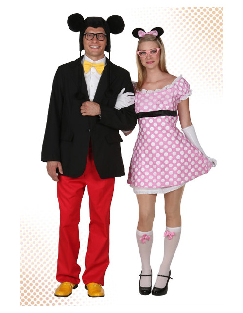 Mickey and Minnie Costumes for Adults