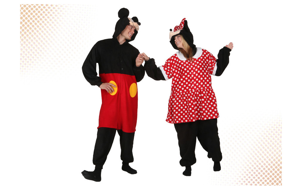 Mickey and Minnie Pajamas