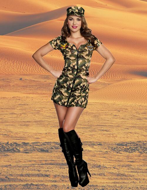 Women's Army Costume