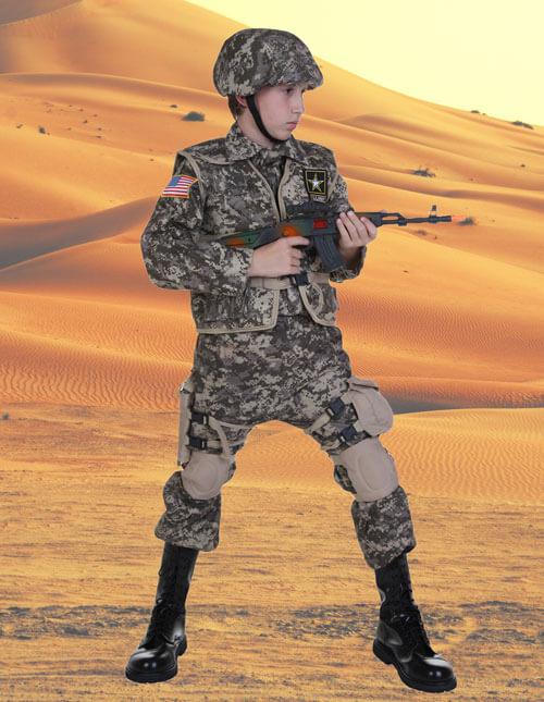 Kids Army Ranger Costume