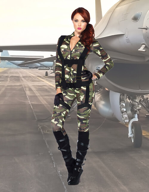 Military Costumes Adult Kids Army And Navy Halloween