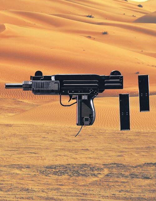 Toy Machine Gun