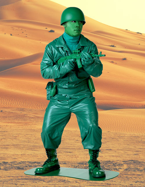 Green Army Man Costume  sc 1 st  Halloween Costumes & Military Costumes - Adult Kids Army and Navy Halloween Costume