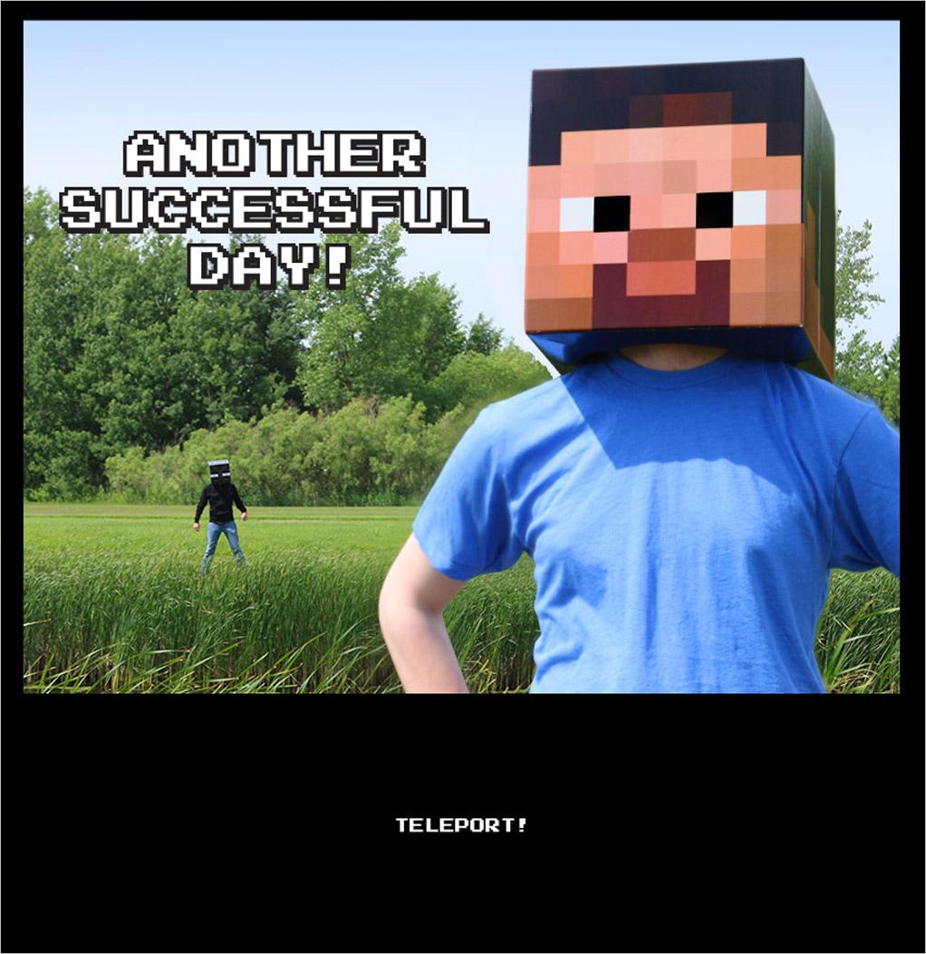 Minecraft comic part 4