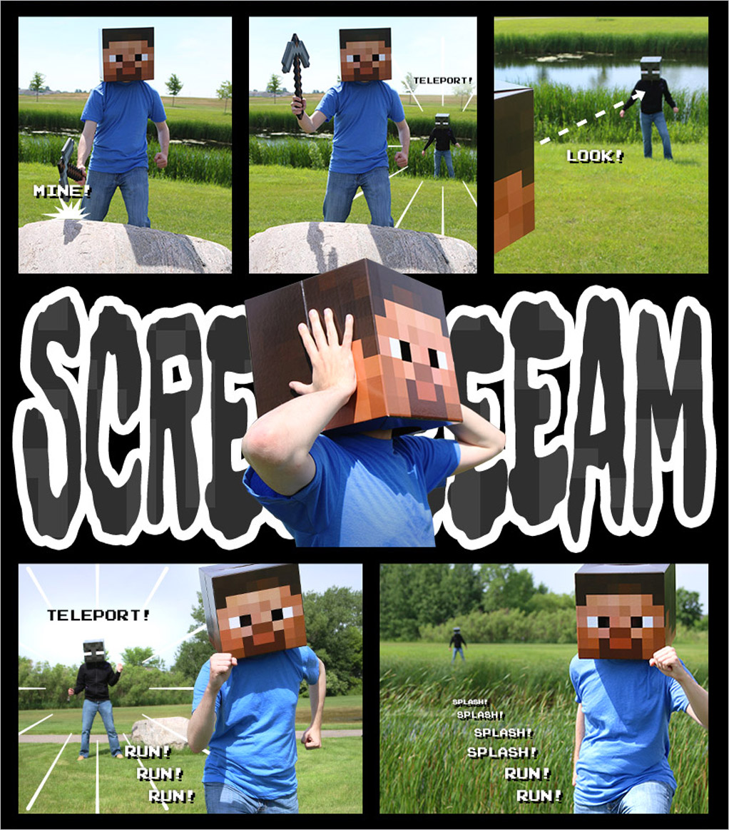 Minecraft comic part 3