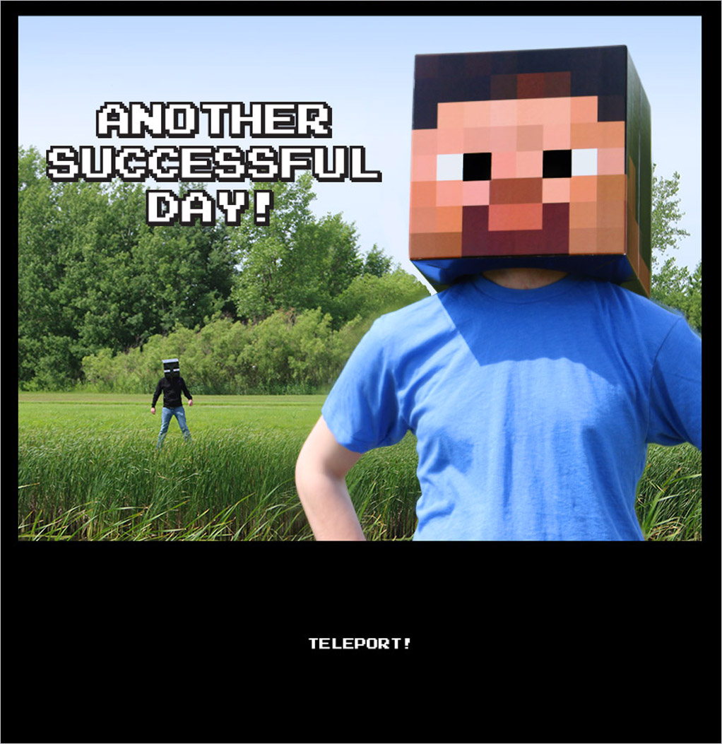 Minecraft comic part 4