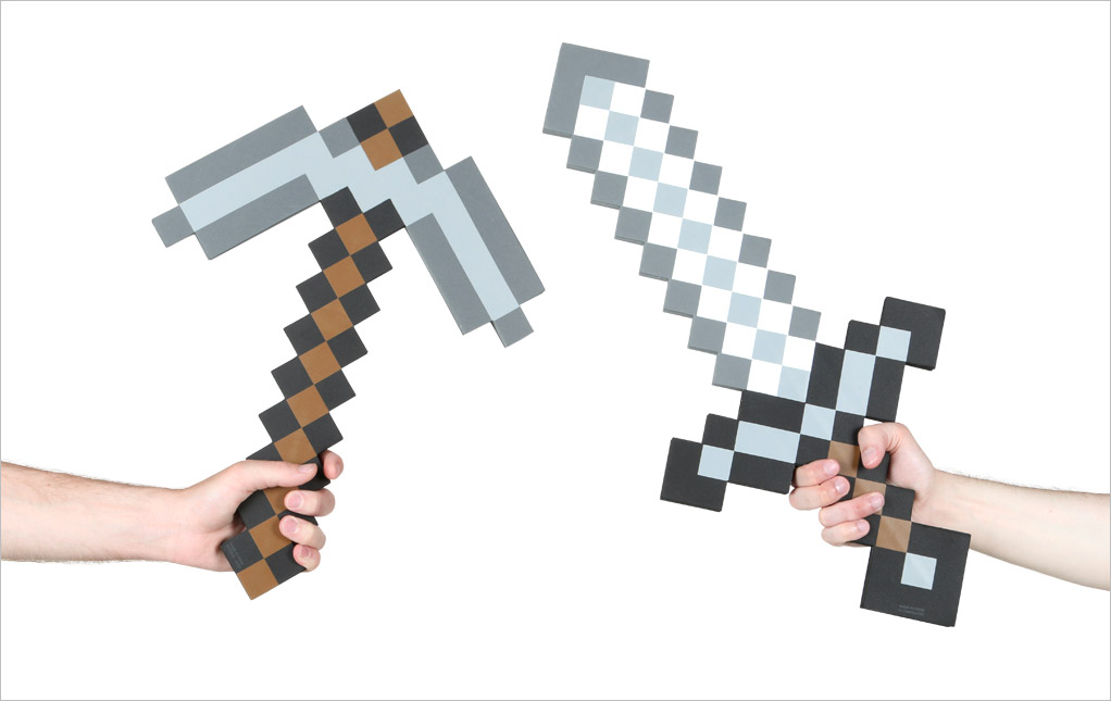 Minecraft Costumes & Accessories - HalloweenCostumes com