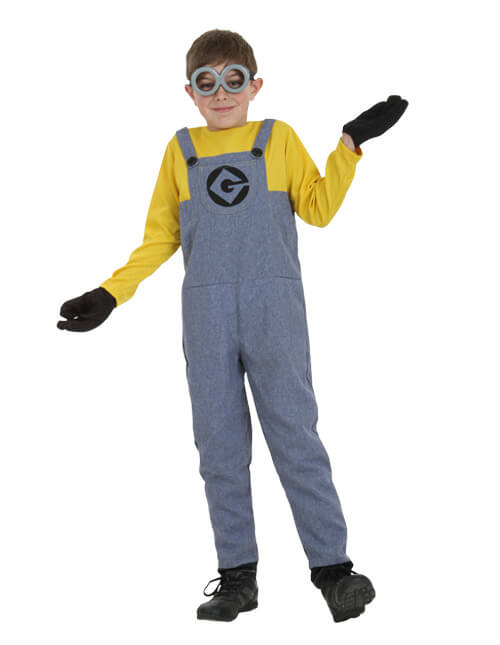 Boy Minion  sc 1 st  Halloween Costumes : minion costume boy  - Germanpascual.Com