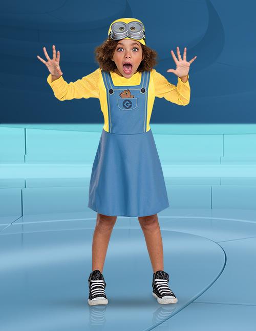 Girls' Minion Costume