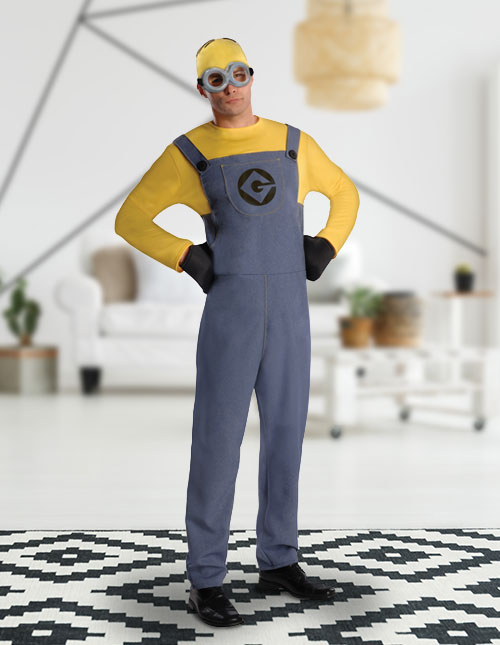 Men's Minion Costume