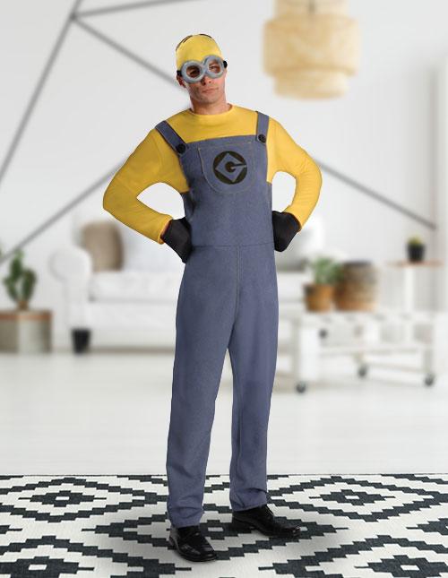 Men's Minion Costume