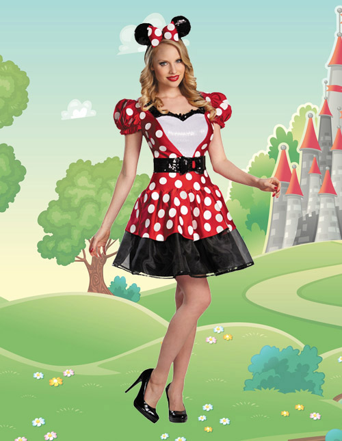 Women's Minnie Mouse Costume