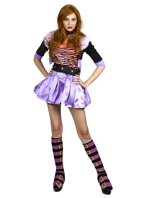 Clawdeen Cool Pose  sc 1 st  Halloween Costumes & Monster High Costumes u0026 Accesories - HalloweenCostumes.com