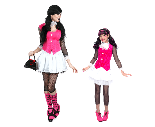 Scary Pair Costume Pose  sc 1 st  Halloween Costumes & Monster High Costumes u0026 Accesories - HalloweenCostumes.com