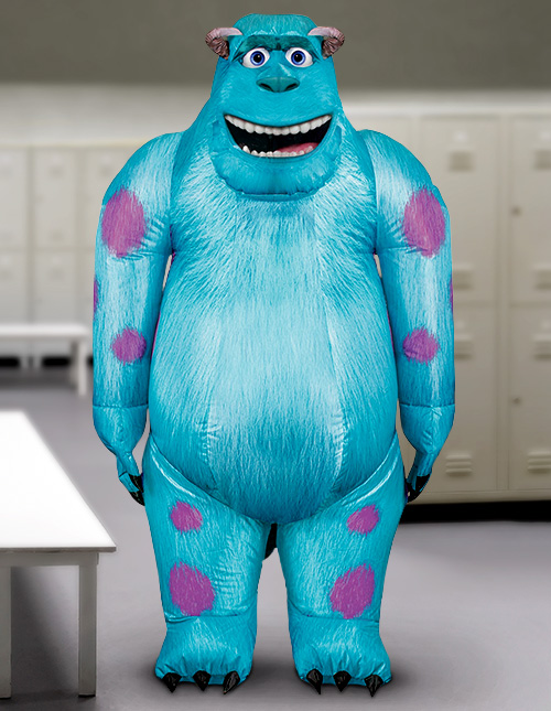 Inflatable Sulley Costume