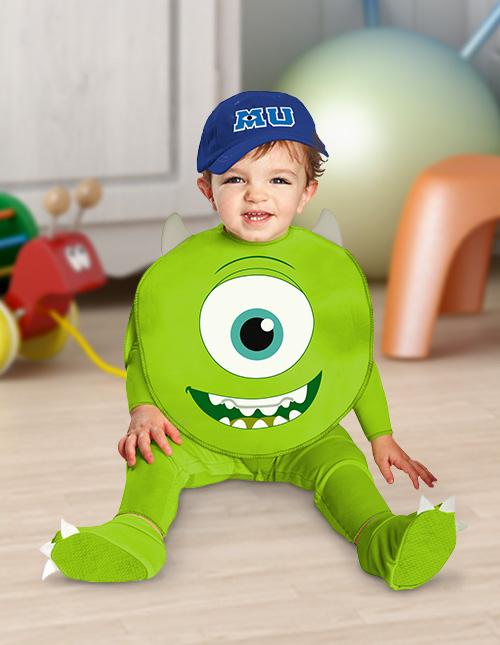 Baby Mike Wazowski Costume