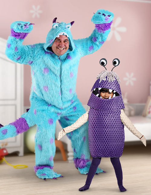 Sulley and Boo Costume