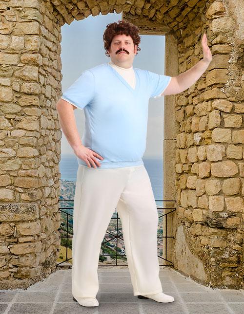 Nacho Libre Blue Outfit