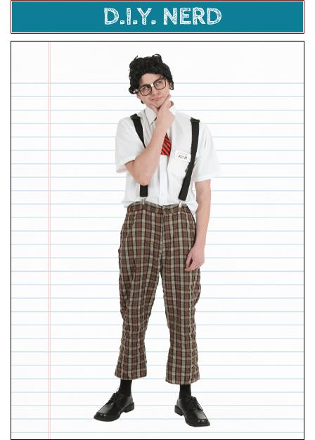 D.I.Y. Nerd Costume