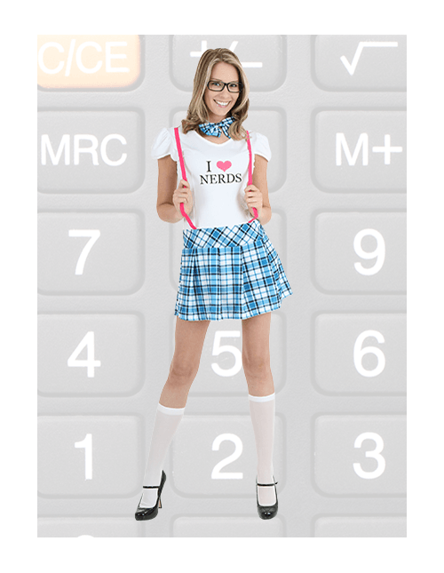 Nerd Costume for Women