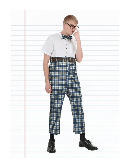 Retro Nerd Costume