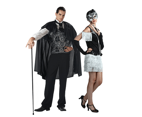 Masquerade Ball Pose  sc 1 st  Halloween Costumes & New Years Eve Costumes - Men and Womens New Years Costumes