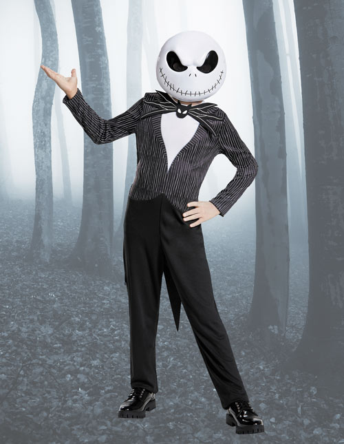 Jack Skellington Kids Costume