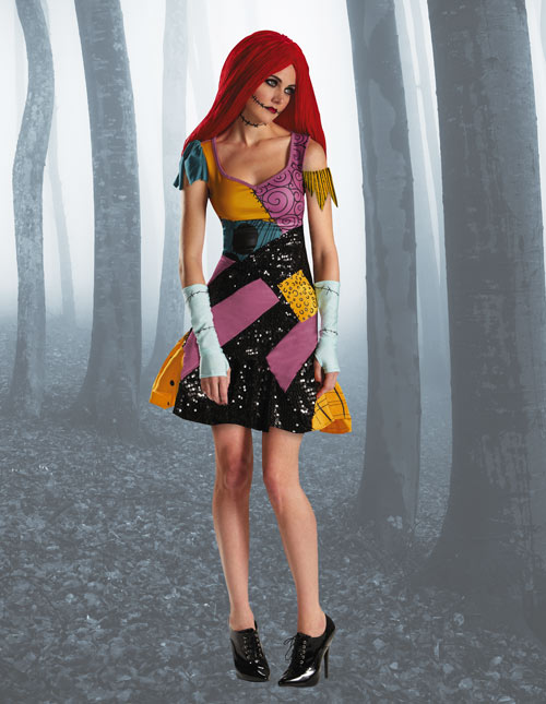 sally glam costume - Sally Nightmare Before Christmas Wig