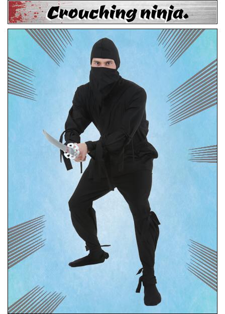 Crouching Ninja