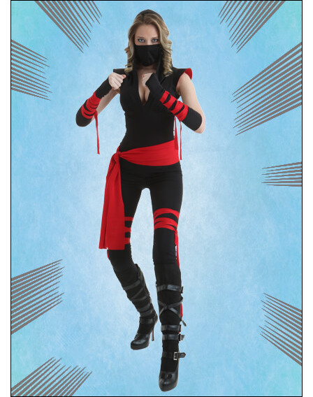 Female Ninja Costume