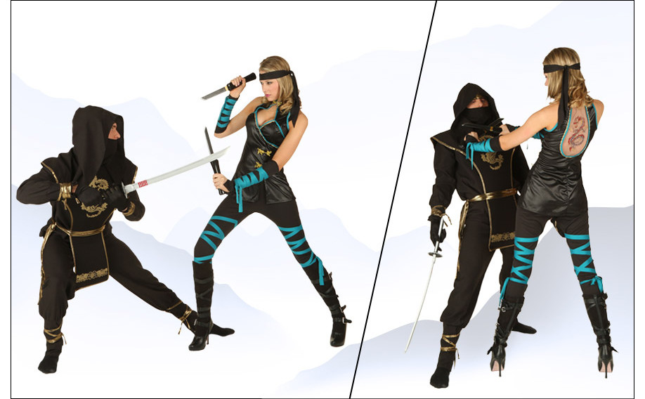 Ninja Couple Costumes