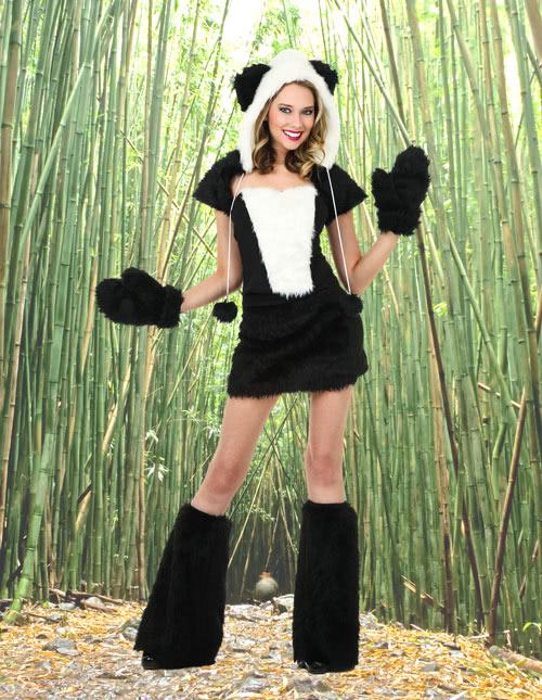 Sexy Panda Costume
