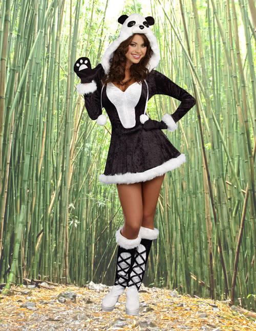 Panda Dress Costume