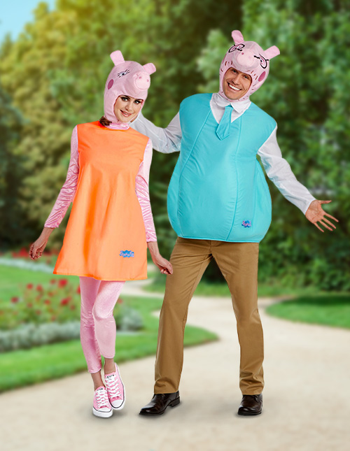 Peppa Pig Costume for Adults