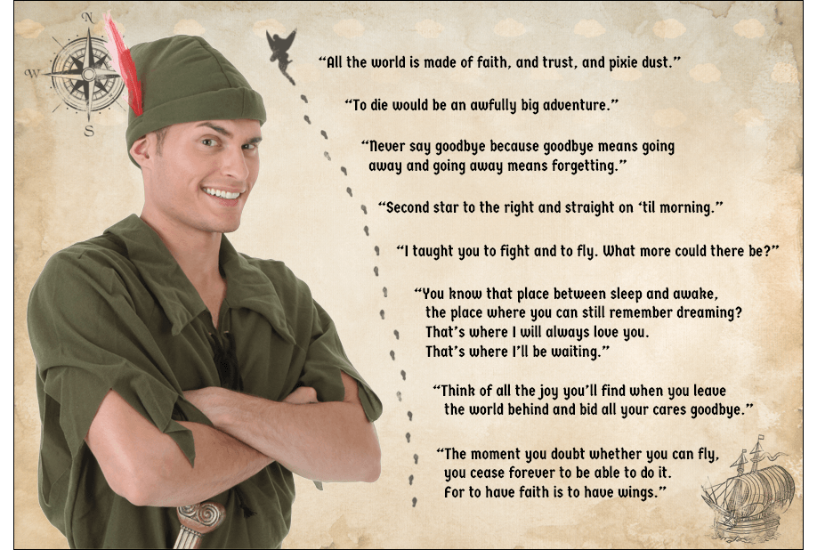 Peter Pan Quotes