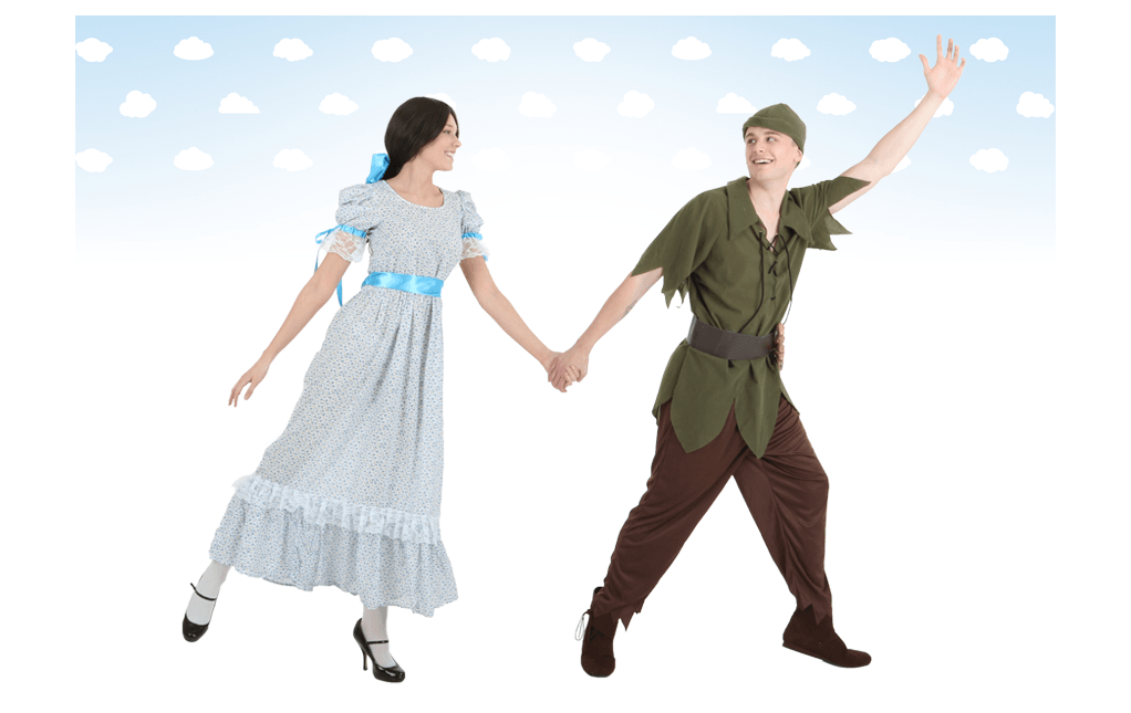 Peter Pan and Wendy Costumes