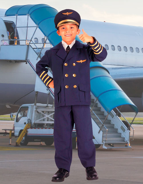 Kid's Pilot Outfit