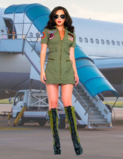 Top Gun Costume Dress