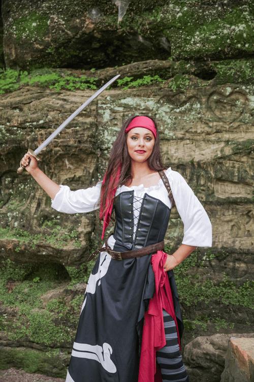 She's A Lady... A Pirate Lady Costume
