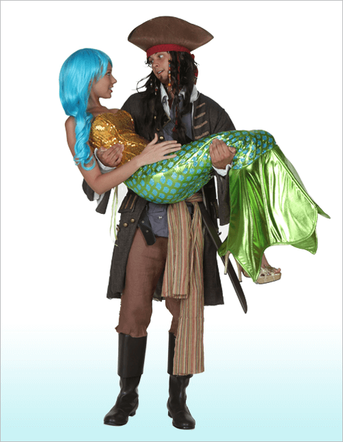 Codfather heaved the scaled siren from the foam of the sea and carried her onto the deck of his galleon.