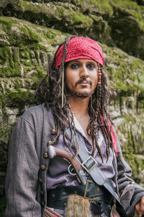 Too Cool For School Caribbean Pirate