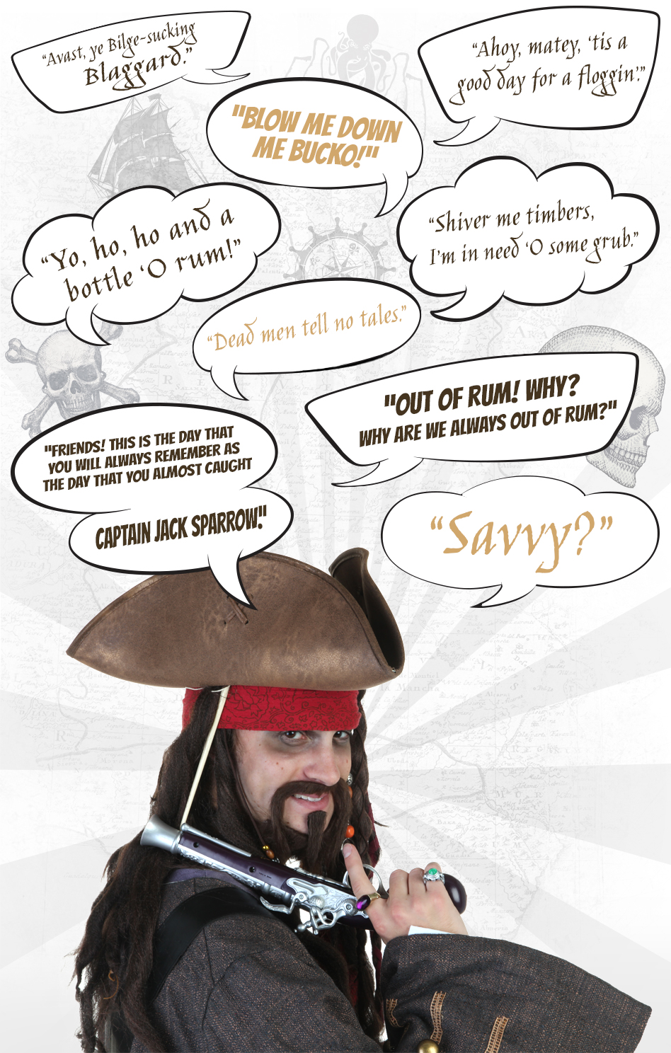 Talk like a Pirate - Pirate Quotes