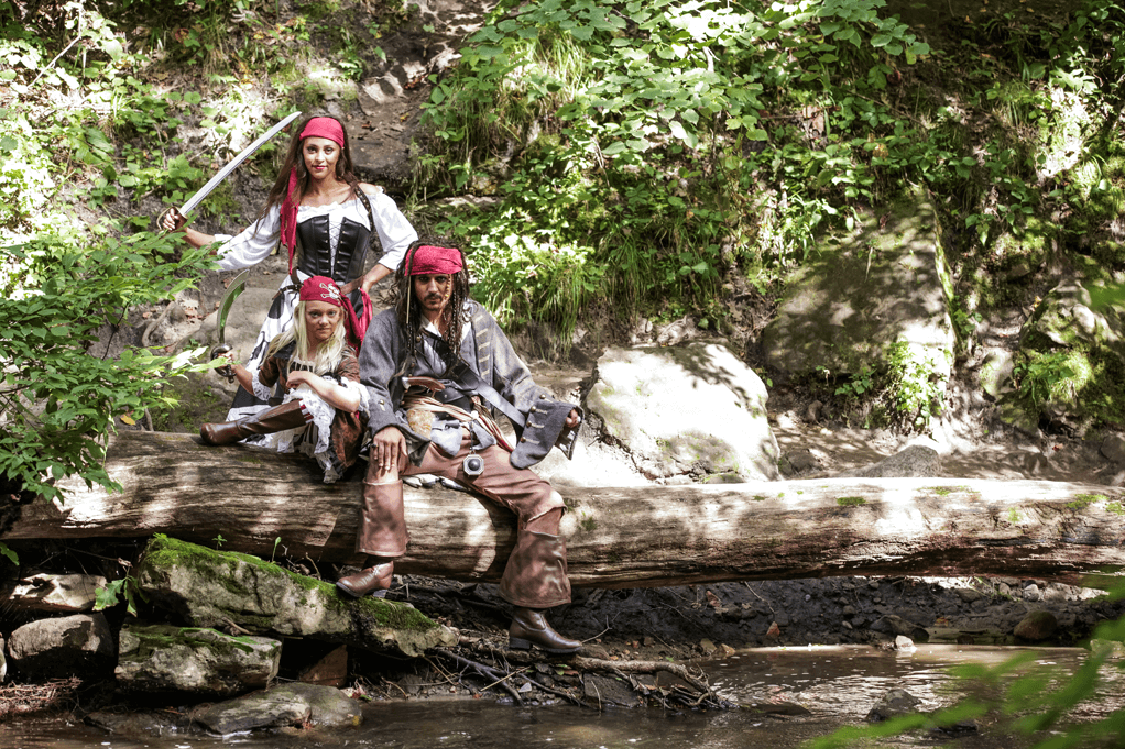 A Pirate's Life For Ye! Costumes