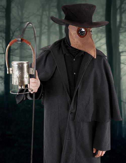 Black Plague Doctor Kit