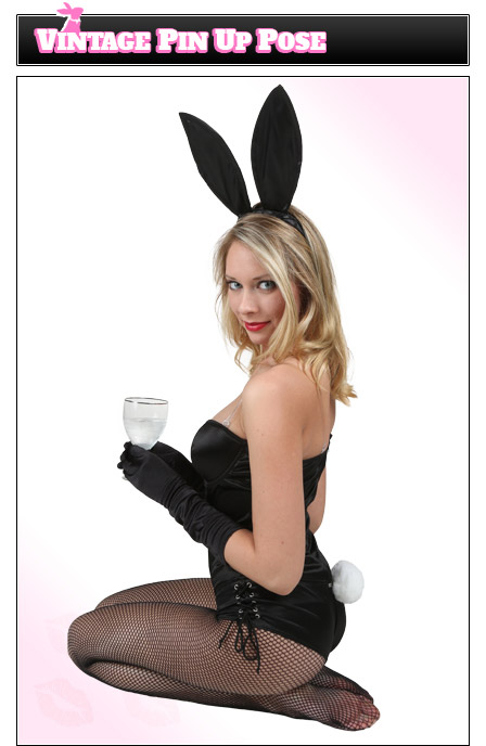 Playboy Bunny Poses - Vintage Pin-Up Girl