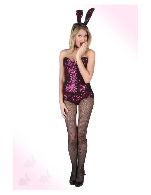 Purple Playboy Bunny Costume