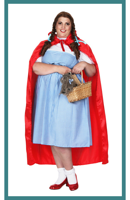 Womens Plus Size Kansas Girl Costume